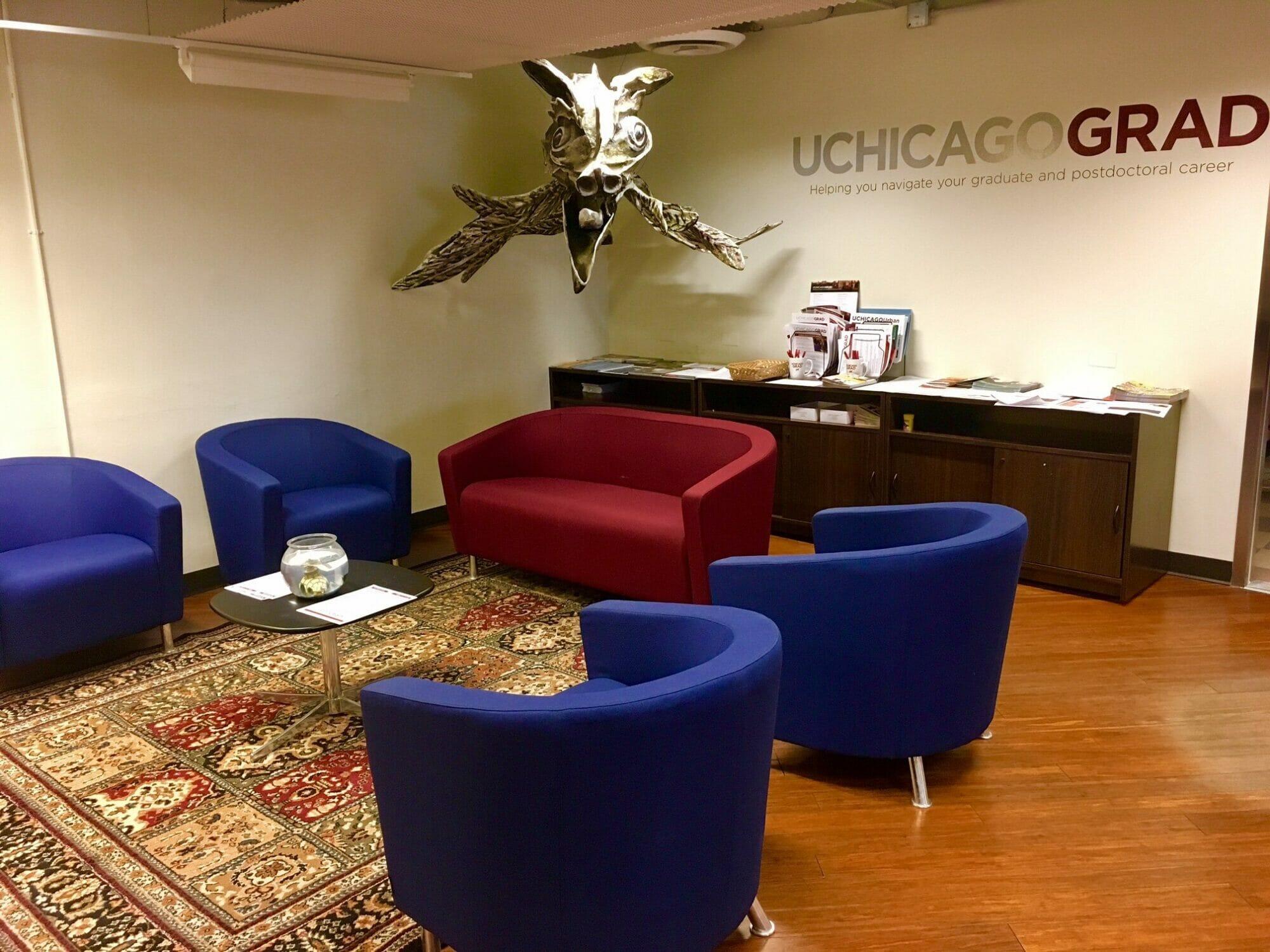 UChicago GRAD HQ space.