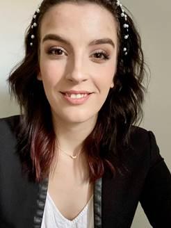 brunette female
