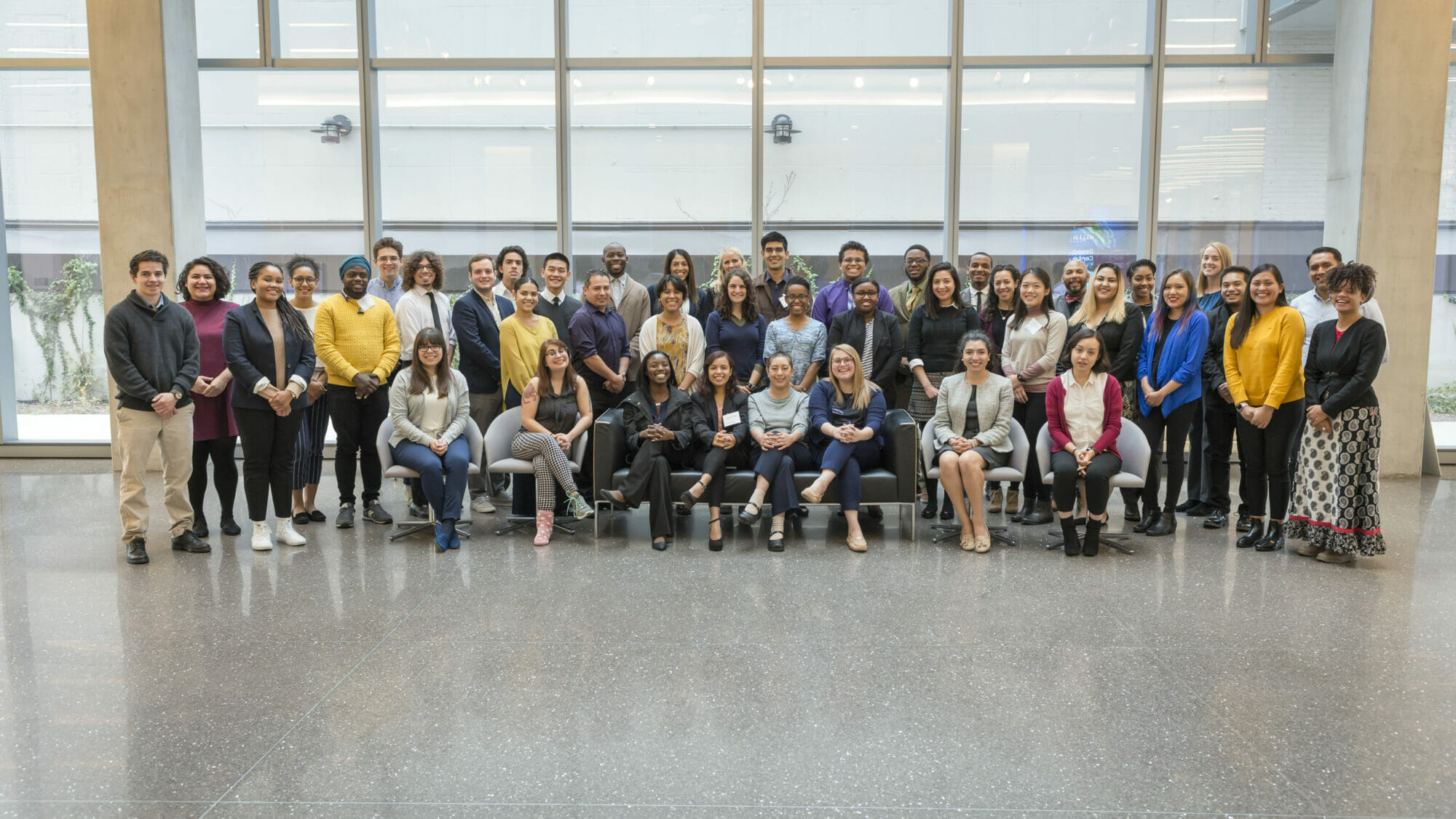 Attendees from Discover UChicago 2017