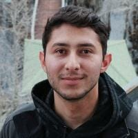 image of student smiling